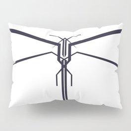 DRAGONFLY B/W Pillow Sham