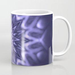 Purple ice Swirl mandala Coffee Mug