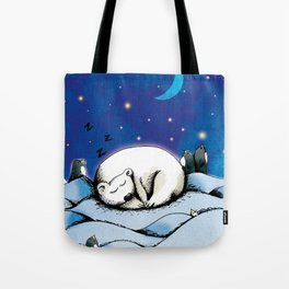 ours polaire Tote Bag
