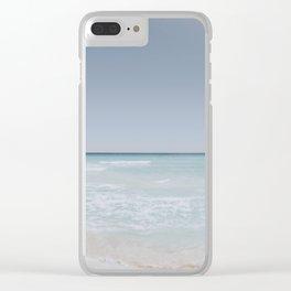 beach vibes iii / cancun, mexico Clear iPhone Case