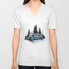 into the wild  Unisex V-Neck