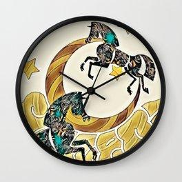 Whimsy-Foo Wall Clock