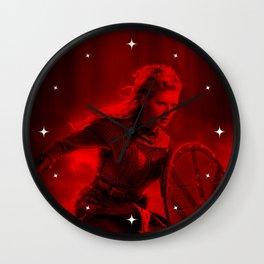 Katheryn Winnick - Celebrity (Photographic Art) Wall Clock