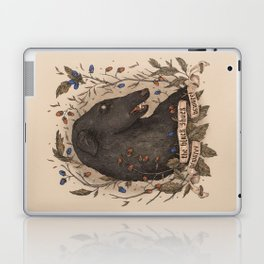 Beware, the Black Shuck Laptop & iPad Skin