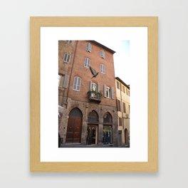 Siena Framed Art Print