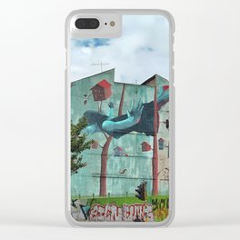 City Trees Clear iPhone Case