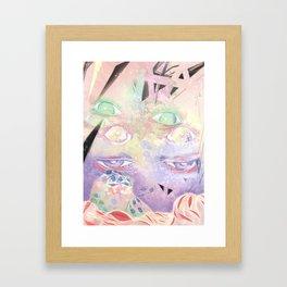 No Dreams Framed Art Print