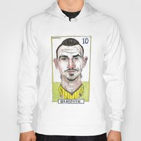 zlatan Hoodies featuring ZLATAN by BANDY