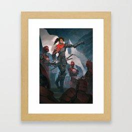 MOTOME KAGETORA - The Black Sea Framed Art Print