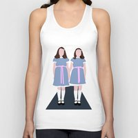 the shining Tank Tops featuring Shining Twins by Alberto P