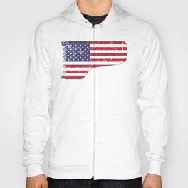 American Flag Grand Piano design Hoody