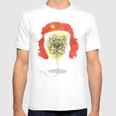 Doodle Revolution! Mens Fitted Tee White MEDIUM