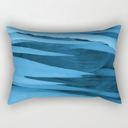 Tipsy Icicle Blues Rectangular Pillow