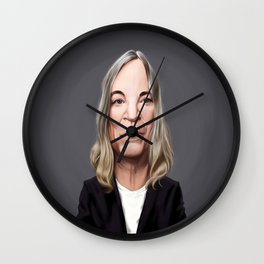 Celebrity Sunday ~ Patti Smith Wall Clock
