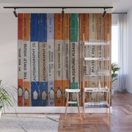 Penguin Bookworm Collection Wall Mural