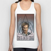 true detective Tank Tops featuring True Detective by Pop Vulture