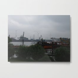 Old Harbour Metal Print