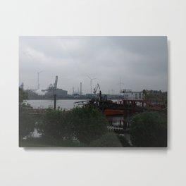 Old Harbour Metal Print