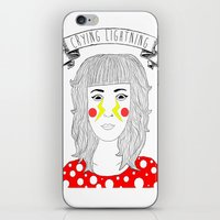 arctic monkeys iPhone & iPod Skins featuring Crying Lightning by Arctic Monkeys inspired by darlingheart