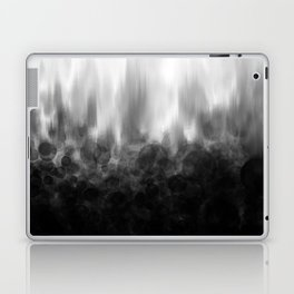 B&W Spotted Blur Laptop & iPad Skin