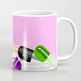 Pill Popper Party Pink Coffee Mug