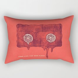 Videodrome Rectangular Pillow