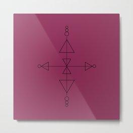 Compass One Metal Print