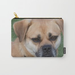 Puggle Dog face Carry-All Pouch