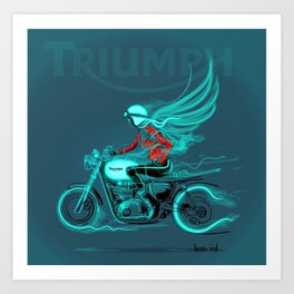 Triumphant Art Print