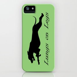 Lungs on Legs iPhone Case