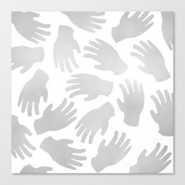 Hands On Canvas Print