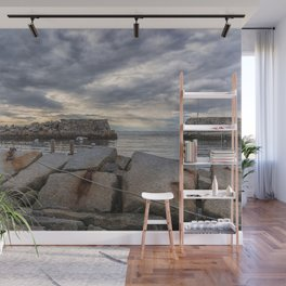Lanes Cove on a cloudy afternoon Wall Mural
