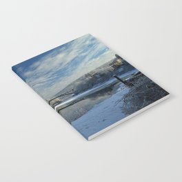 River View - Finally Looks Like Winter Notebook