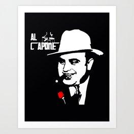 American mobster Art Print