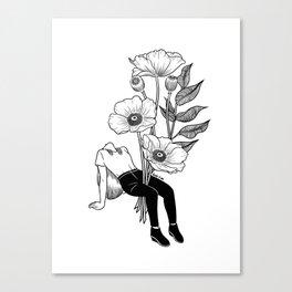 Let me bloom Canvas Print