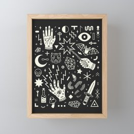 Witchcraft Framed Mini Art Print