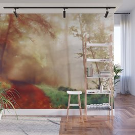 Tip Toe Through The Forest Wall Mural