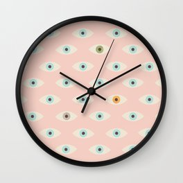 Thousand Eyes Wall Clock
