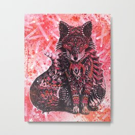 Ruby Fox Metal Print