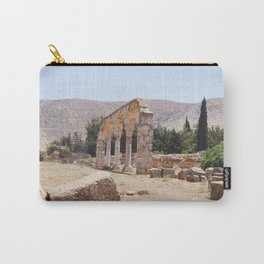 Old Ruins & Mountains Carry-All Pouch