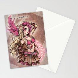 Angel of Neapolitan Ice Cream Stationery Cards