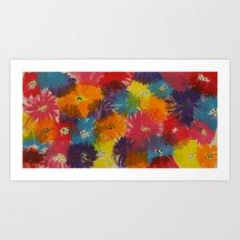 Raising Wildflowers Art Print