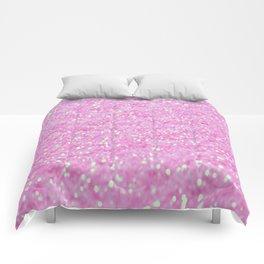 Pink Glitter Comforters