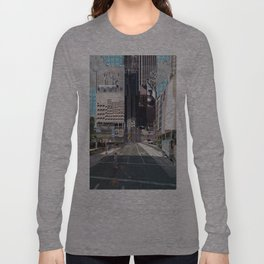 Mash city Phoenix and sky pool Los Angels Long Sleeve T-shirt