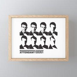 Samuel Beckett-En attendant Godot-Waiting for Godot Framed Mini Art Print