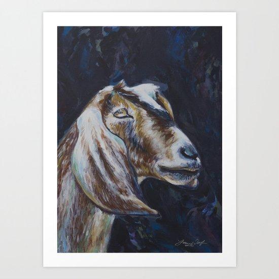 Rusty Goat Art Print