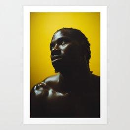 Negro Art Print