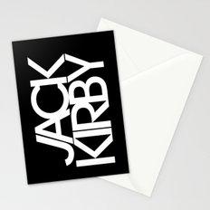 Classic : Jack Kirby Black  Stationery Cards