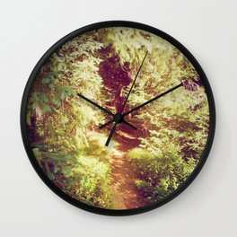 Come to the Secret Place Wall Clock