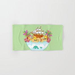 Ocean Adventure Ramen Hand & Bath Towel